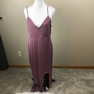Asos Purple Maxi Dress
